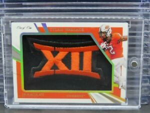 2021 Immaculate Collegiate Tylan Wallace Jumbos Bowl Logo Rookie Patch #1/1 Z102