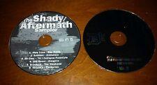Shady Aftermath Sampler PROMO Music CD Obie Trice Eminem 50 Cent Brooklyn 6 Rap