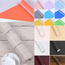 10M Roll Contact Paper Wallpaper Peel&Stick Self-Adhesive Wall Sticker DIY Decor