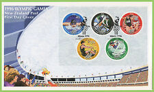 First Day of Issue Olympics New Zealand Stamps