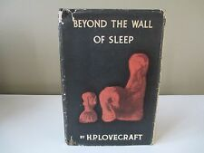 H.P. Lovecraft - Beyond the Wall of Sleep - Arkham House - First Edition - 1943
