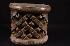 17723 Afrikanische Alte Bamun Hocher / Stool Kamerun