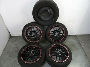"Renault Clio MK3 2006 - 2012 15"" Alloy Wheel & Tyre Full Set 195 50 R15 + Spare"