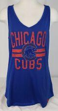 Brand New Women's Majestic Chicago Cubs Tank Top Shirt- Medium