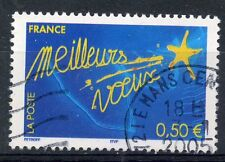 STAMP / TIMBRE FRANCE OBLITERE N° 3728 MEILLEURS VOEUX