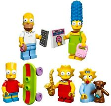LEGO Minifigures Series 13: THE SIMPSONS FAMILY HOMER*BART*MARGE*LISA*MAGGIE NEW