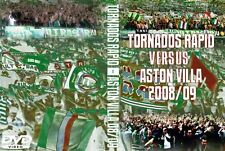 DVD RAPID WIEN-ASTON VILLA & ASTON VILLA-RAPID WIEN  2008-2009 (TORNADOS,ULTRAS)