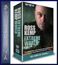 ROSS KEMP - EXTREME WORLD - COMPLETE SEASON 2 ***BRAND NEW DVD ***