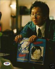 Masi Oka Signed Auto'd Heroes 8x10 Photo PSA/DNA COA