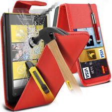 Fundas y carcasas Para Nokia Lumia 520 de piel para teléfonos móviles y PDAs