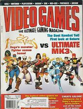 MAY 1996 VIDEO GAME magazine FIGHTING VIPERS - MORTAL KOMBAT 3