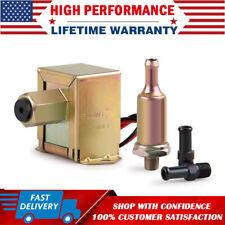 "Universal Electric Fuel Pump 4-7 PSI 12V Low Pressure Gas Diesel Inline 5/16"""