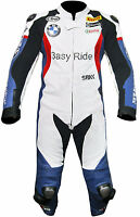 BMW Motorcycle Riding suit Leather Cowhide MotoGP motorbike Racing