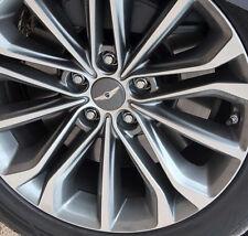OEM Genuine Center Wheel Cap Cover 4p 1Set For 2014 2015 Hyundai Genesis Sedan