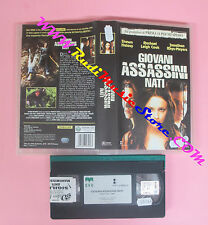 VHS film GIOVANI ASSASSINI NATI 2001 Hatosy Leigh Cook CVC R09C3058 (F41) no dvd