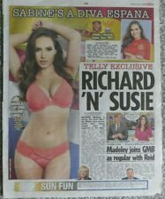 The Star The Sun The Sport  50 x PAGE 3 clippings  Adele Taylor Sophie Jennings