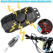 110dB Fahrradalarmanlage Berufsdiebstahl Fahrrad Verschluss Alarm +Fernbedienung