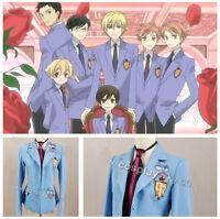 Ouran High School Host Club Haruhi Fujioka Uniform Jacket Blazer Cosplay Costume