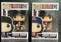 Pop! Rocks- AC/DC- Angus Young #91 Red Jacket #91 Funko Pop Vinyl Collectors Set