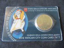 Coincard 50 Cent  Vatican 2016