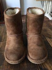 UGG Toddler Chestnut Brown Boots...Size 10...VGUC