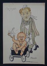 Caricature illustrateur TIMPAGNON Saint-Maixent promo 1929 J'veux ma poupée