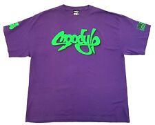 Vintage Moody Mutz NYC Purple Tee Size XL Graffiti Street Art T Shirt New York