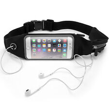 Running Belt Waist Pack Fitness Sport Touchscreen Waistband for Smartphones