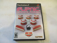 FlipNic Ultimate Pinball for  Ps2 in Very Good condtion With Manual  Free Ship