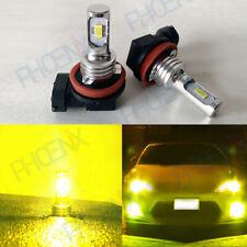 New Super Bright H11 H8 H9 LED Headlight Bulb Kit Performance 60W 3000K Yellow