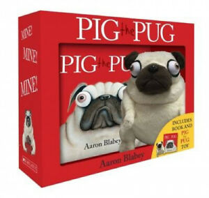 Pig the Pug Boxed Set (Mini Book + Plush) (Pig the Pug) by Aaron Blabey