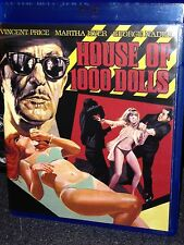 House Of 1,000 Dolls 1967 NM/MINT BLU-Ray Vincent Price Maria Rohm A.I.P. Kino