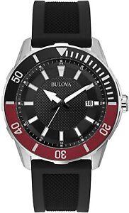 Bulova 44 mm Men's Water-Resistant 100M Quartz Watch