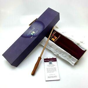 "Alivan's Magic Wand Red Cedar & Oak 12 1/4"" | Harry Potter | Cert No. #3936"