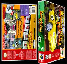Beetle Adventure Racing - N64 Reproduction Art Case/Box No Game.