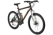 "26 Zoll Mountainbike MTB 26"" Bike Fully Damen Herren Fahrrad Scheibenbremsen 21G"