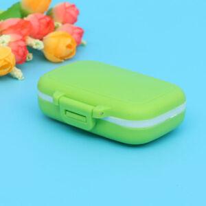 Travel Portable Storage Medicine Pill Box Organizer Tablet Holder Dispenser Case