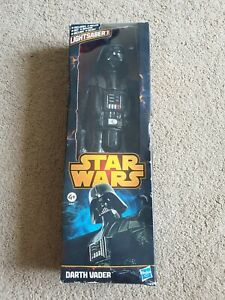 "Star Wars Darth Vader 12"" Tall Toy Action Figure Boxed New 2013 Hasbro"