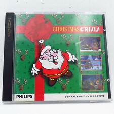 Christmas Crisis 1995 Philips CDI CD-I Game