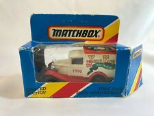 York Fair Limited Edition 1990 Matchbox 1979 Model A Ford Delivery Truck