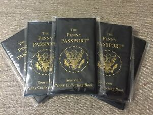 Penny Passport Penny Collecting Book - FREE SHIPPING