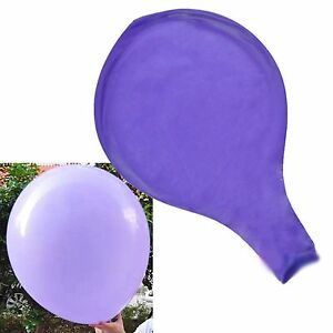 """6Pcs 36""""Inch Large Giant Big Latex Balloons Birthday Party Wedding Various Color"""
