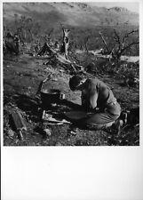 WW2 - Photo-carte -  Italie - Venafro - 45° Div. Inf. US au repos en décembre 43