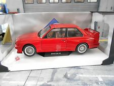 BMW M3 E30 Evo Sport 1986 rot red Solido Metall SP 1:18