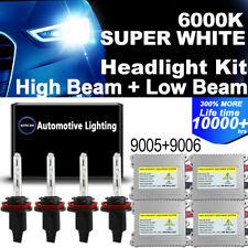 Protekz 500W 92800lm LED Lights Headlight Kit 9005 Hb3 HB3 6000K White 2 Bulbs