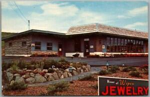 Claremont, New Hampshire Postcard WIPCO ACCESSORIES CENTRE Advertising c1960s