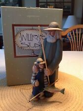 """Grandpa and Child Fishing -""""Lessons for a Lifetime""""-Williraye-7738 - New in Box"""