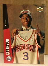 Allen Iverson 1996-97 Collector's Choice Rookie Toys R Us Exclusive Mini #26 RC