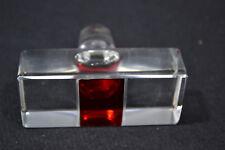 Glasstöpsel für Karaffen etc., Kristallglas