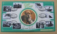CATS & DOGS 2001 BENHAM FDC CATSHILL H/S SIGNED BY TV PRESENTER EDWINA SILVER